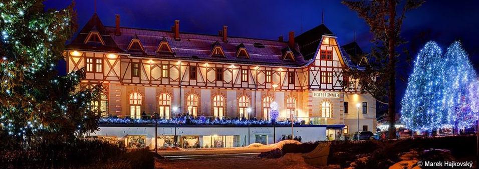 Ozvučení luxusního hotelu, Hotel Lomnica, Vysoké Tatry, Tatranská Lomnica, Slovensko